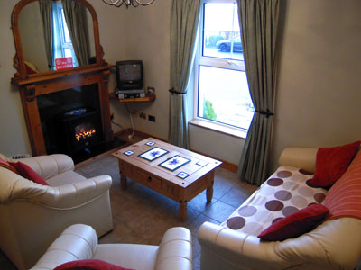 Sitting Room  - Adrhidibeg Holiday Cottage - Self Catering, Dungloe, Donegal, Ireland